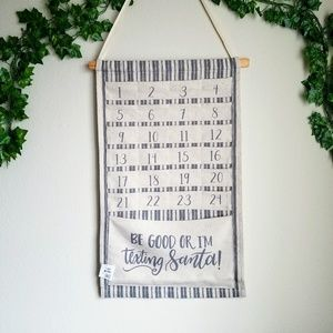 Be Good Countdown Wall Hanging